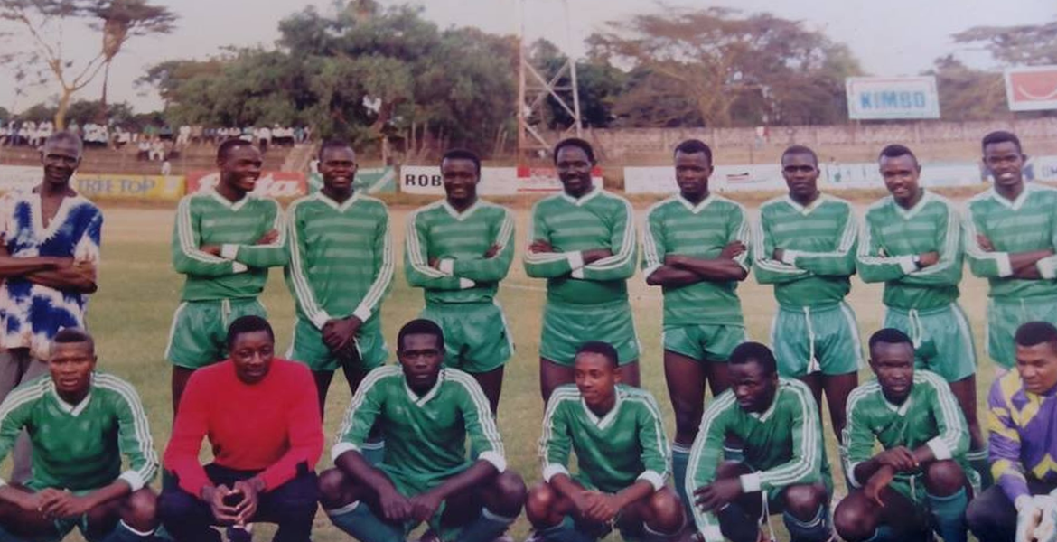 Photo of Gor Mahia in the 90s
