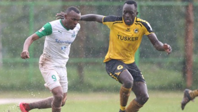 Photo of K'Ogalo's two goals against Tusker