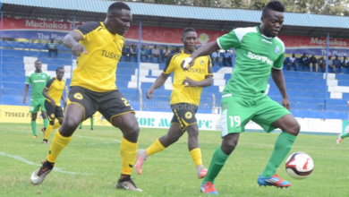 Photo of Gor tops after draw against Tusker