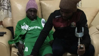 Photo of Defender Ochieng recovering well
