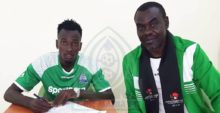 Photo of Gor Mahia sign striker Mustafa from Rwanda