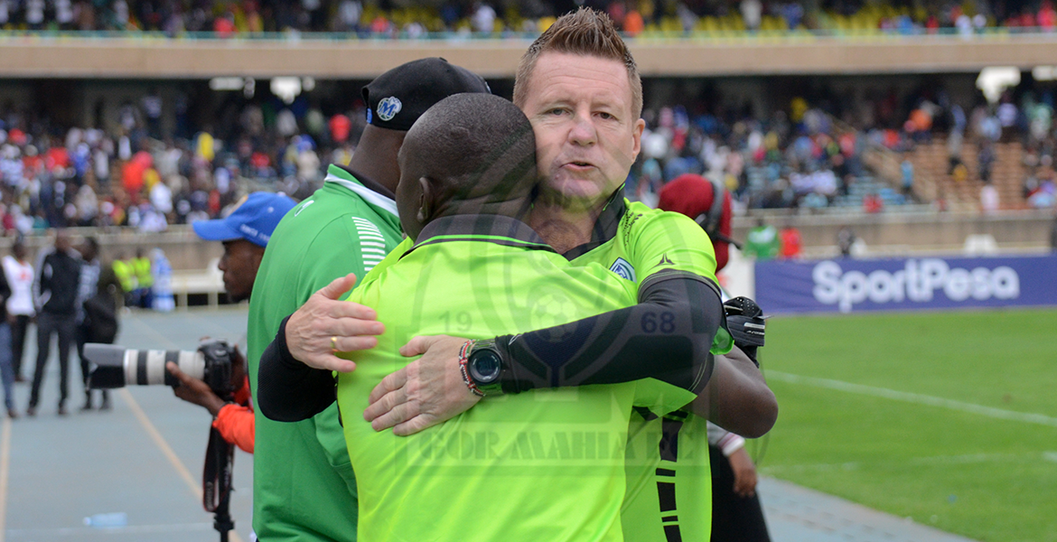 Photo of Kerr: We have one agenda against Sofapaka