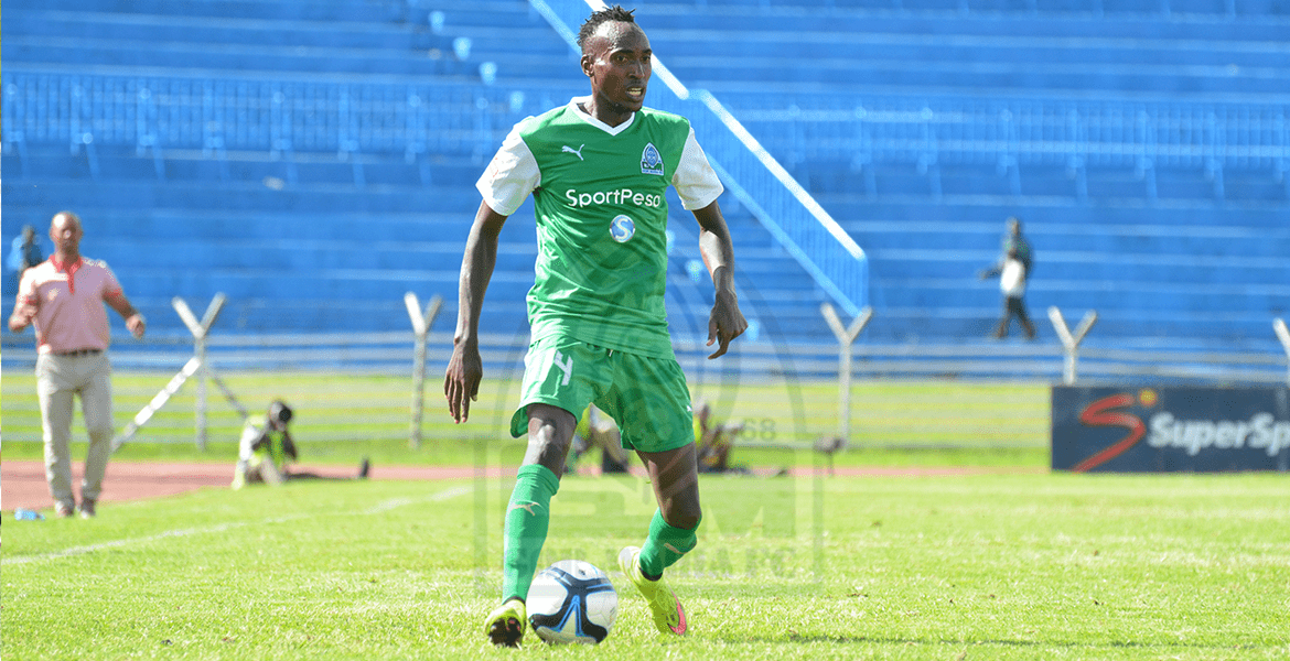 Photo of Karim starts on the bench as Gor's squad to face Nakumatt is named