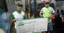Photo of Gor fans raise money for bus repair