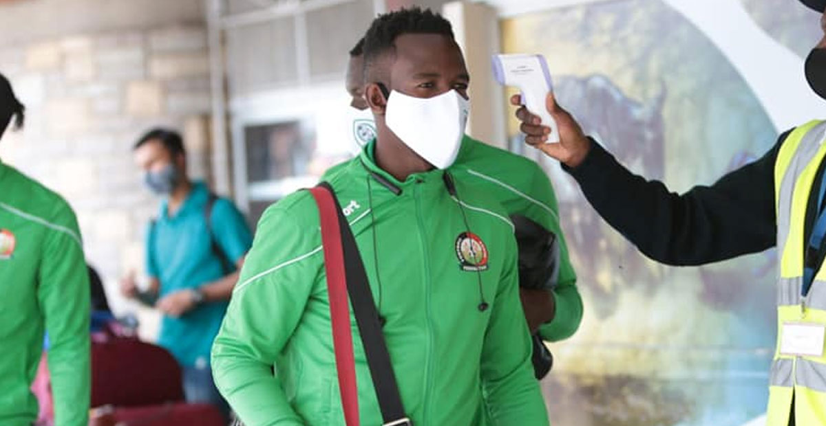 Photo of Gor Mahia traveling list