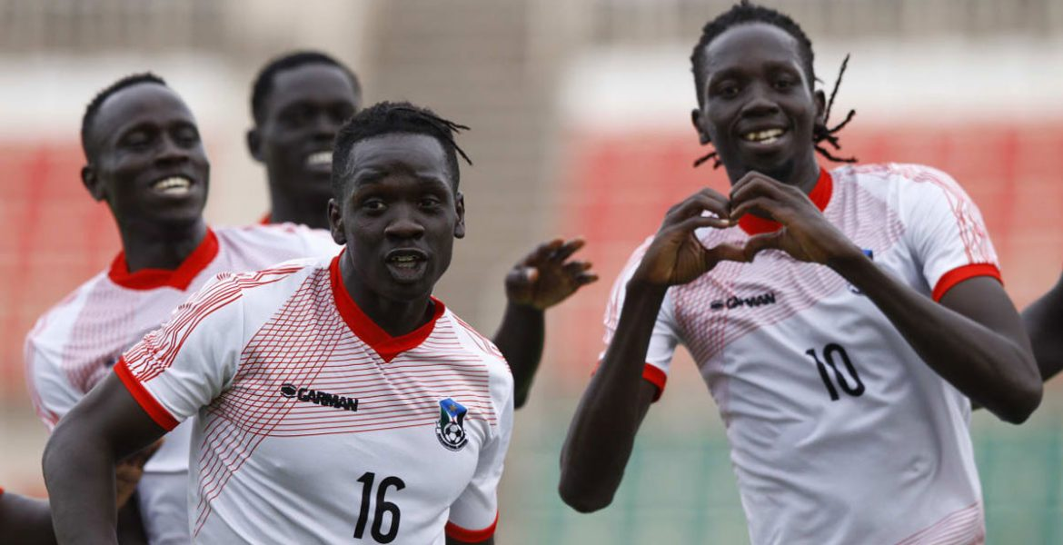 Photo of Okello's goal gives S. Sudan hopes for AFCON campaigns