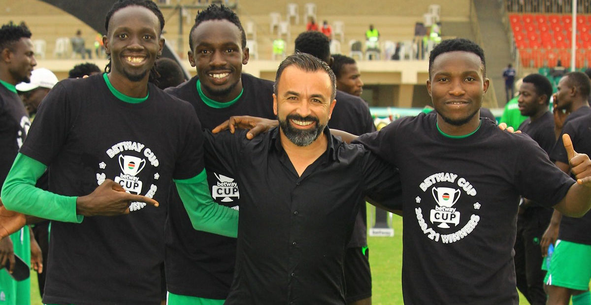 Photo of Pinto special message to Gor Mahia players