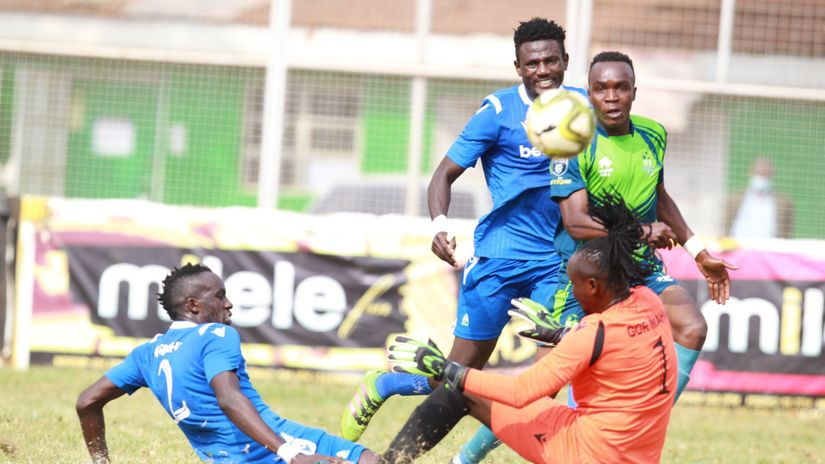 Photo of Gor KCB ends in a barren draw at Thika Municipal Stadium