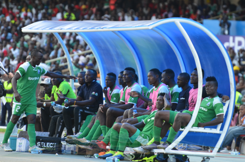 Gor mahia technical bench